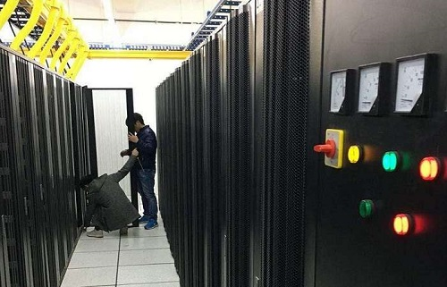 香港服务器机房环境
