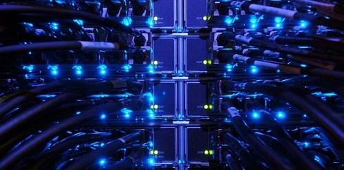 香港云服务器物理硬件展示