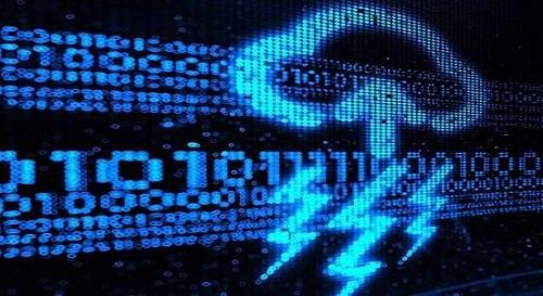网络攻击示意图