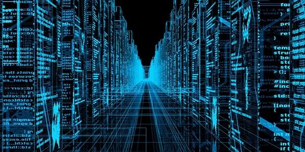 服务器数据中心抽象图