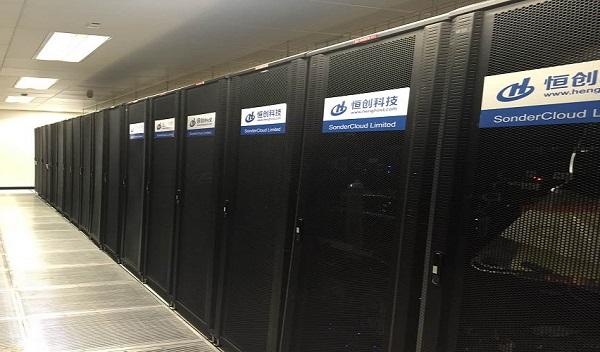 恒创科技香港数据中心机柜图